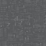 Modelo abstracto inconsútil del esquema Imagen de archivo libre de regalías