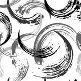 Modelo abstracto inconsútil del fondo, con los movimientos de la pintura y SPL ilustración del vector