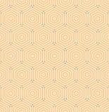 Modelo abstracto inconsútil del vector Fotografía de archivo