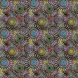 Modelo abstracto inconsútil multicolor Imagen de archivo