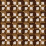 Modelo abstracto marrón retro del fondo Imagen de archivo