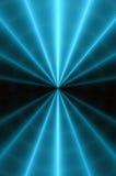 Modelo abstracto que brilla intensamente B. de la parte radial. Fotografía de archivo