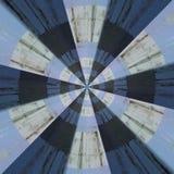 Modelo abstracto radial fotos de archivo