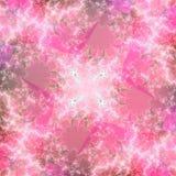 Modelo abstracto rosado único del fondo Fotografía de archivo libre de regalías