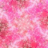 Modelo abstracto rosado único del fondo Fotografía de archivo