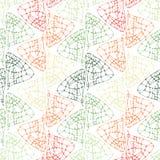 Modelo abstracto sin fin de la decoración Imagen de archivo libre de regalías