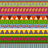 Modelo abstracto tribal Imagen de archivo libre de regalías