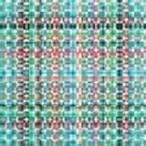 Modelo abstracto verde gris rojo rendido Digital de la turquesa libre illustration