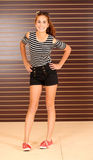 Modelo adolescente bonito da menina Imagens de Stock