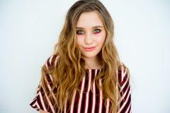Modelo adolescente de la muchacha Fotografía de archivo libre de regalías
