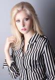 Modelo adolescente elegante Foto de archivo libre de regalías