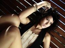 modelo adolescente femenino Imagenes de archivo