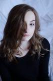 Modelo adolescente femenino hermoso Fotos de archivo libres de regalías
