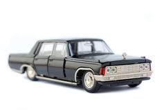 Modelo aislado coche del juguete Imágenes de archivo libres de regalías