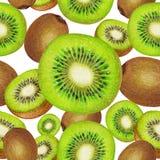Modelo aislado de la fruta de kiwi fresca Foto de archivo