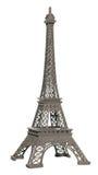 Modelo aislado de la torre Eiffel Fotos de archivo libres de regalías