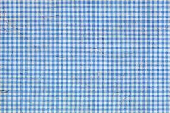 Modelo ajustado azul con las fibras integradas en la textura Imágenes de archivo libres de regalías
