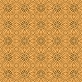 Modelo amarillo brillante inconsútil de Florall Imagenes de archivo