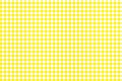 Modelo amarillo de la guinga Textura del Rhombus/de los cuadrados para - la tela escocesa, manteles, ropa, camisas, vestidos, pap ilustración del vector