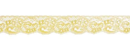 Modelo amarillo del cordón Fotos de archivo