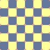 Modelo amarillo y azul de los corazones del color Fotografía de archivo libre de regalías
