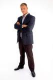Modelo americano adulto ereto Foto de Stock Royalty Free