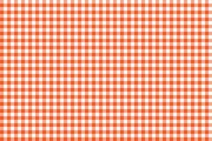 Modelo anaranjado de la guinga Textura del Rhombus/de los cuadrados para - la tela escocesa, manteles, ropa, camisas, vestidos, p libre illustration
