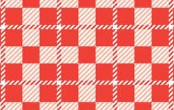 Modelo anaranjado de la guinga Textura del Rhombus para - la tela escocesa, manteles, camisas, vestidos, papel, lecho, mantas, ed libre illustration