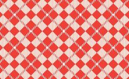 Modelo anaranjado de la guinga Textura del Rhombus para - la tela escocesa, manteles, camisas, vestidos, papel, lecho, mantas, ed stock de ilustración