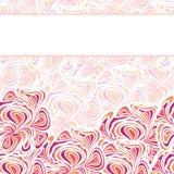 modelo Anaranjado-púrpura Fotografía de archivo libre de regalías
