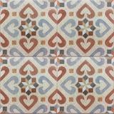 Modelo andaluz, tejas españolas, diseño geométrico del mosaico Fotografía de archivo