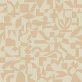 modelo Arena-coloreado de formas geométricas Imagen de archivo libre de regalías