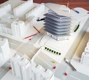 Modelo arquitectónico ilustración del vector