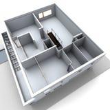 Modelo arquitectónico Imagen de archivo libre de regalías