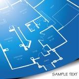 Modelo arquitectónico stock de ilustración