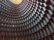 Modelo arquitectónico de cilindros