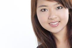 Modelo asiático consideravelmente novo Fotografia de Stock Royalty Free
