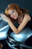 Modelo atractivo de la muchacha Imagen de archivo libre de regalías