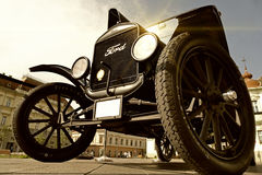 Modelo automobilístico velho T de Ford Fotografia de Stock
