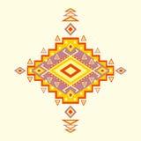 Modelo azteca. stock de ilustración