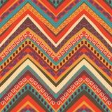 Modelo azteca colorido inconsútil Imágenes de archivo libres de regalías