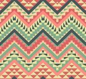 Modelo azteca colorido inconsútil Fotografía de archivo