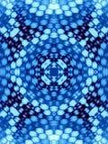 Modelo azul ilustración del vector