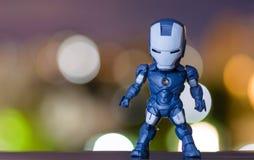 Modelo azul Foto de Stock Royalty Free