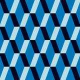 Modelo azul Fotos de archivo libres de regalías