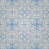 Modelo azul abstracto inconsútil con pendiente Imagen de archivo libre de regalías
