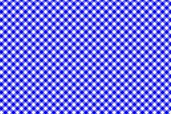Modelo azul de la guinga Textura del Rhombus/de los cuadrados para - la tela escocesa, manteles, ropa, camisas, vestidos, papel,  stock de ilustración