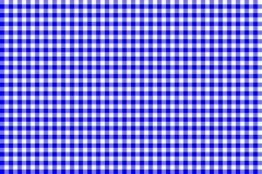 Modelo azul de la guinga Textura del Rhombus/de los cuadrados para - la tela escocesa, manteles, ropa, camisas, vestidos, papel,  ilustración del vector