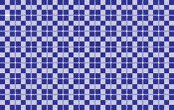 Modelo azul de la guinga Textura del Rhombus para - la tela escocesa, los manteles, las camisas, los vestidos, el papel, el lecho libre illustration