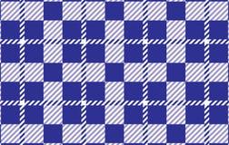 Modelo azul de la guinga Textura del Rhombus para - la tela escocesa, los manteles, las camisas, los vestidos, el papel, el lecho ilustración del vector